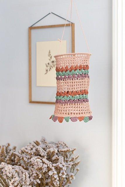 crochet lantern